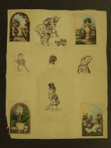 Image of [Various sketches] - Mohler, Hilliard G.
